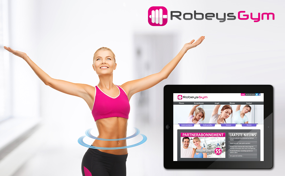 RobeysGym.nl is powered by Refresh Media afbeelding
